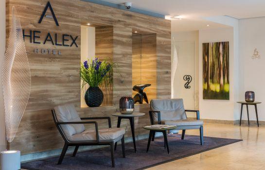 The Alex Hotel-Freiburg im Breisgau-Reception
