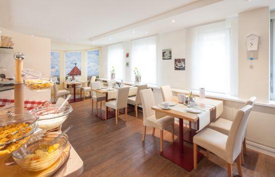 City Hotel-Freiburg im Breisgau-Breakfast room