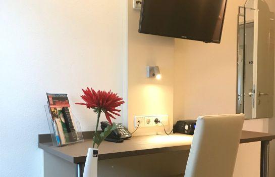 City Hotel-Freiburg im Breisgau-Ecomomy Zimmer Doppel