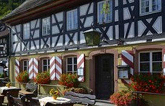 Schlossmuehle-Glottertal - Glotterbad-Aussenansicht