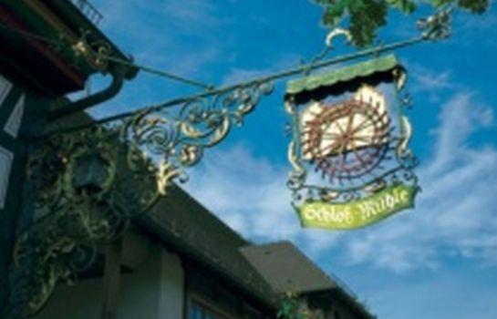 Schlossmuehle-Glottertal - Glotterbad-Hotel outdoor area