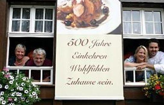 Zum goldenen Engel Gasthaus-Glottertal - Glotterbad-Aussenansicht