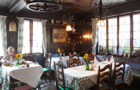 Adler Hotel Gasthaus-Glottertal - Glotterbad-Restaurantbreakfast room