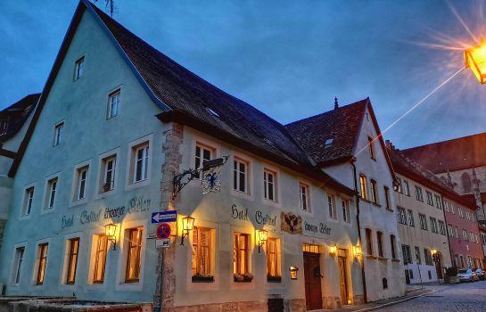 Rothenburg ob der Tauber: Hotel Schwarzer Adler
