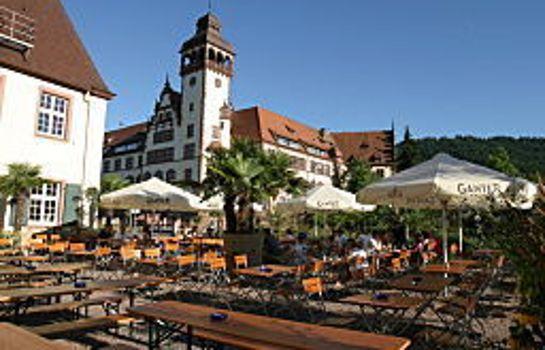 Schuetzen Gasthaus-Freiburg im Breisgau-Garten