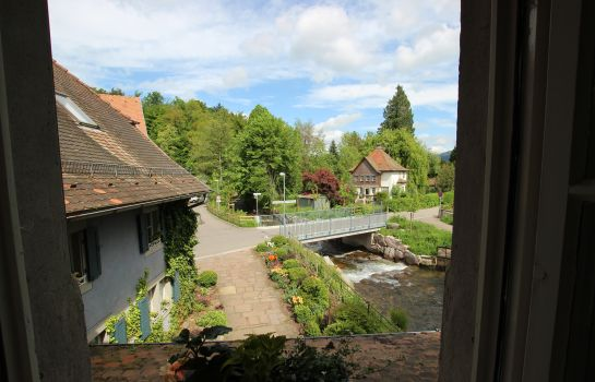 Roessle Landgasthof-Kirchzarten-Zimmer mit Flussblick