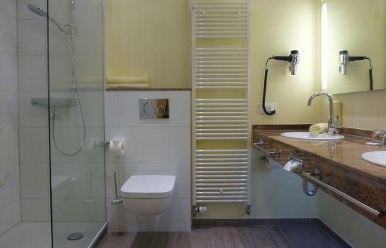 Land-gut-Hotel Schweigener Hof-Schweigen-Rechtenbach-Badezimmer