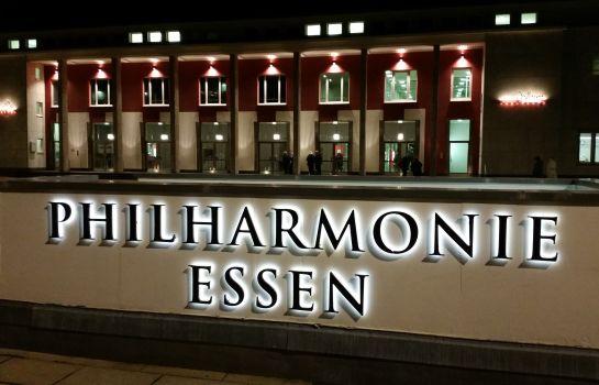 Essen: LUISE CITY ? An der Philharmonie ?