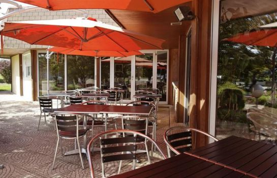 INTER-HOTEL Montbeliard Sud Charme Hotel et Spa-Audincourt-Terrasse