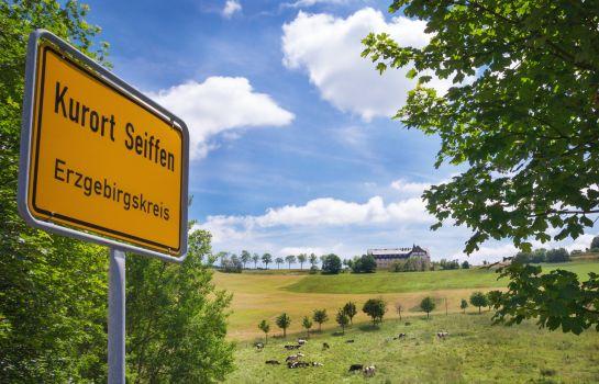 Kurort Seiffen: Panorama Berghotel Wettiner Höhe