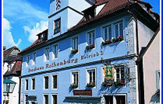 Rothenburg o.d. Tauber: Altes Brauhaus