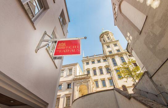 Augsburg: Am Rathaus