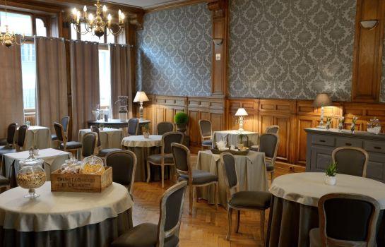 Hotel La Balance Montbeliard-Montbeliard-Breakfast room