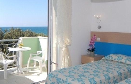 Villa Marcella Holiday Beach-San Vincenzo-Zimmer mit Meerblick