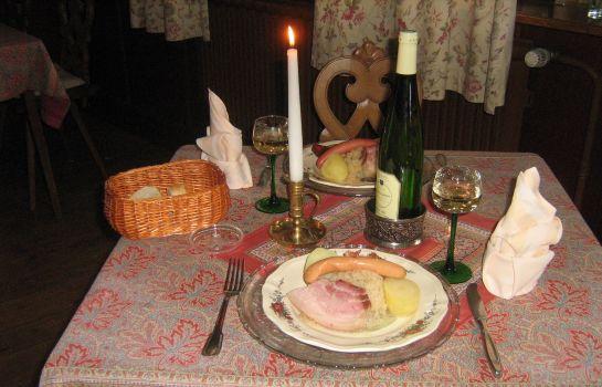 Hotel Weiss-Wissembourg-Restaurant