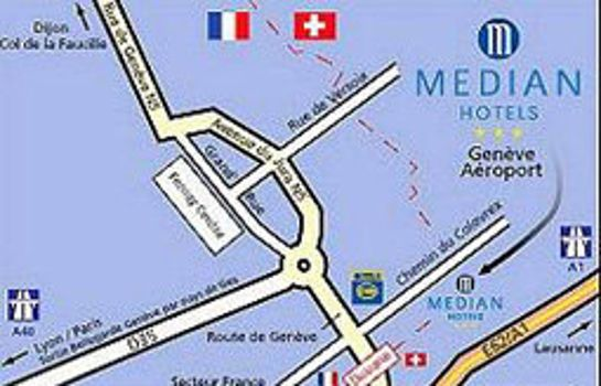 Hotel Median Geneve Aeroport