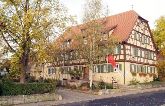 Steinsfeld: Schwarzes Ross Landhotel Nichtraucherhotel