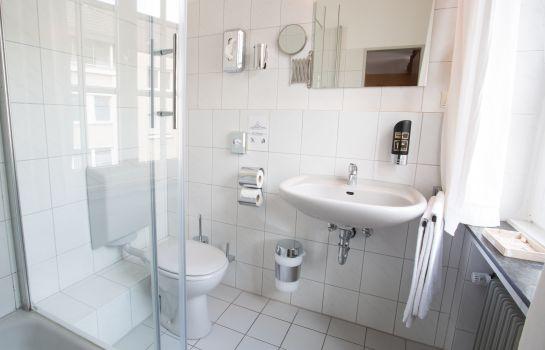 stadthotel jülich günstig buchen - hotel de, Badezimmer