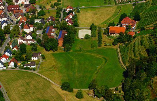 Wissers Sonnenhof-Glottertal - Glotterbad-Anfahrtskizze