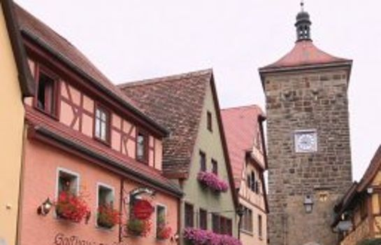 Rothenburg ob der Tauber: Am Siebersturm