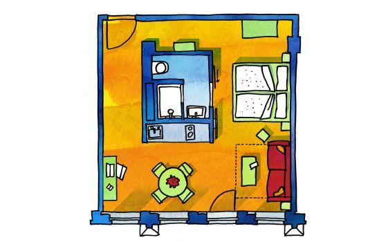 FELIX Suiten im lebendigen Haus am Zwinger