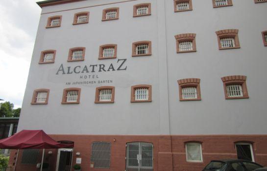 Alcatraz am Japan. Garten