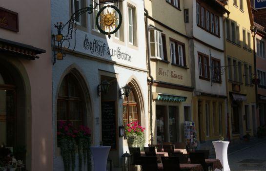 Rothenburg ob der Tauber: Hotel Sonne
