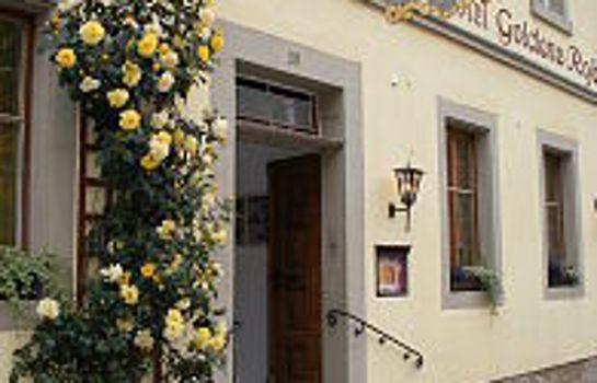 Rothenburg ob der Tauber: Boutiquehotel Goldene Rose