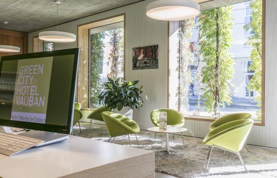 Green City Hotel Vauban-Freiburg im Breisgau-Empfang