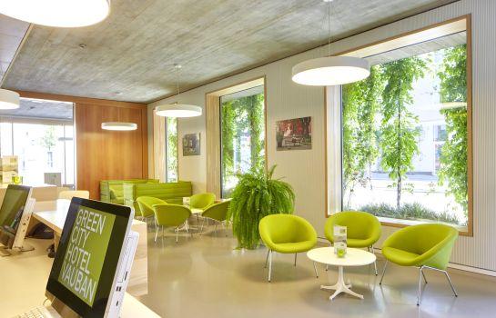 Green City Hotel Vauban-Freiburg im Breisgau-Hall