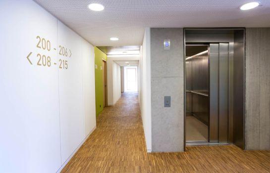 Green City Hotel Vauban-Freiburg im Breisgau-Hotel Innenbereich