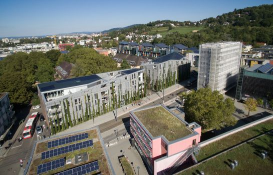 Green City Hotel Vauban-Freiburg im Breisgau-Surroundings