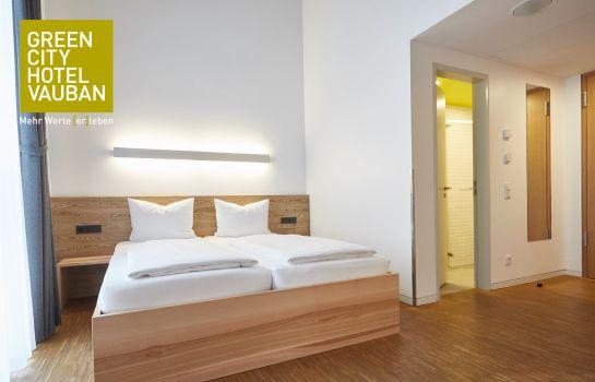 Green City Hotel Vauban-Freiburg im Breisgau-Doppelzimmer Standard