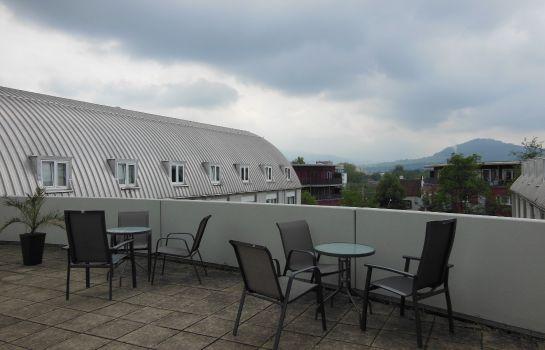 StayInn Hostel und Gaestehaus-Freiburg im Breisgau-Terrasse