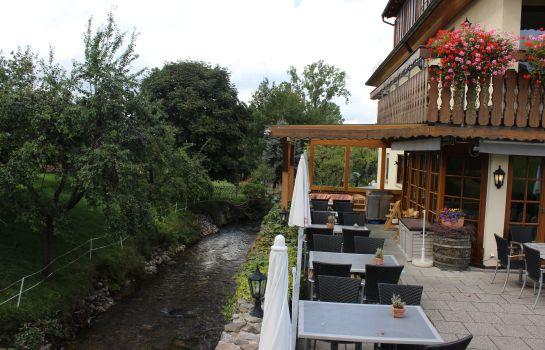Zum Schuetzen Landgasthof-Oberried-Terrasse