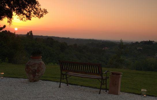 Villa Conti-Fauglia-Ausblick