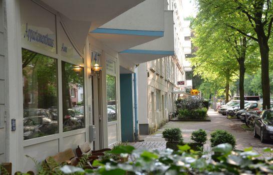 Hamburg: Appartementhaus am UKE