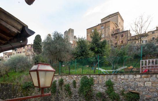Donna Nobile-San Gimignano-Ausblick
