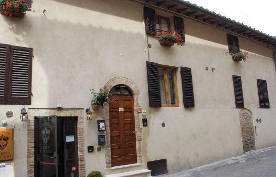 Donna Nobile-San Gimignano-Terrace