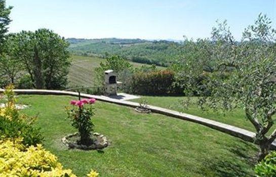Agriturismo il Girasole-San Gimignano-Garten