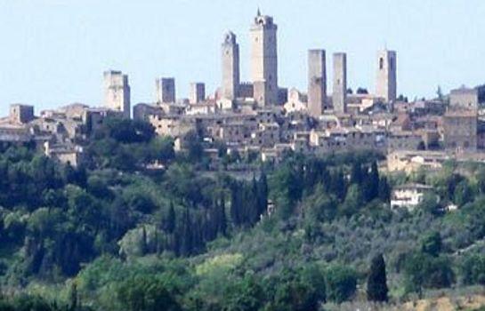 Agriturismo il Girasole-San Gimignano-Ausblick