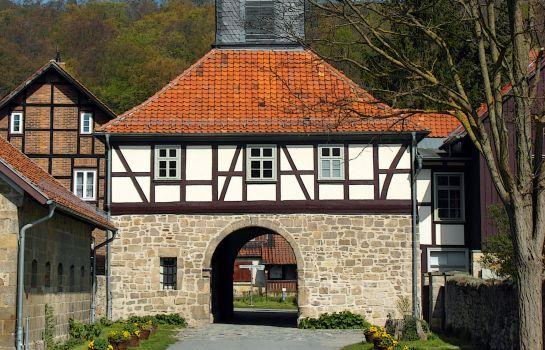 Hotel und Gasthaus  Zum Weißen Mönch Kloster Michaelstein