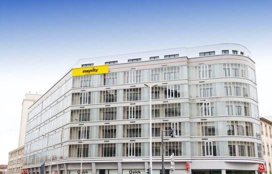 Staycity Aparthotels Rue Garibaldi entry - 40 rue Camille Roy