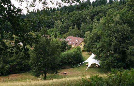 Lettisches Haus-Freiburg im Breisgau-Garten