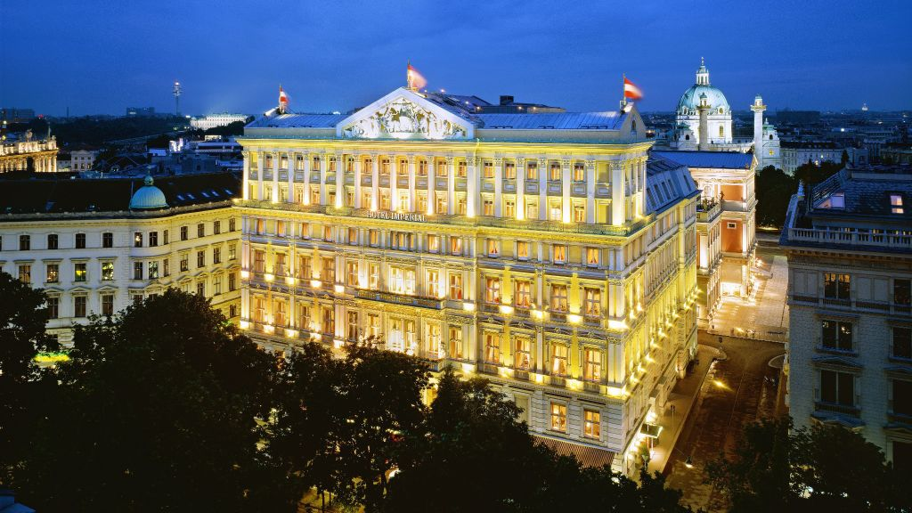 Hotel Imperial A Luxury Collection Vienna Exterior View