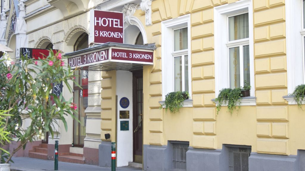 Unterkunft Drei Kronen Hotel Wien City