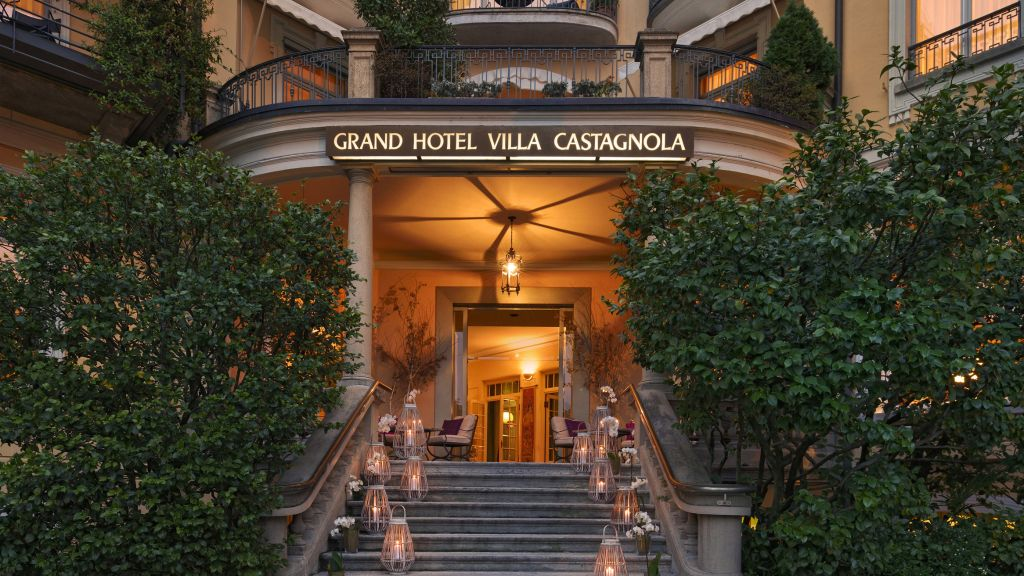 Grand Hotel Villa Castagnola Lugano Exterior View 10