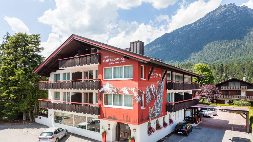 Rheinischer Hof Garmisch Partenkirchen 4 Sterne Hotel Tiscover