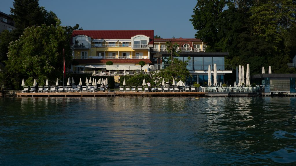 Seehotel Dr Jilly Portschach Am Worthersee 4 Sterne Hotel Tiscover