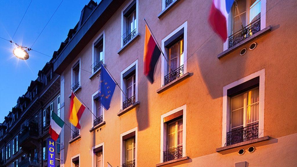 A la Gare Lausanne Hotel outdoor area - A_la_Gare-Lausanne-Hotel_outdoor_area-1-25357.jpg
